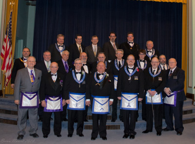 Victory Lodge Installation of Officers 2014